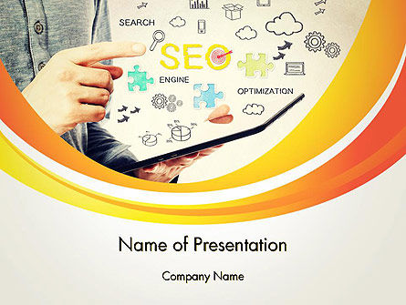 Website Traffic Optimization PowerPoint Template