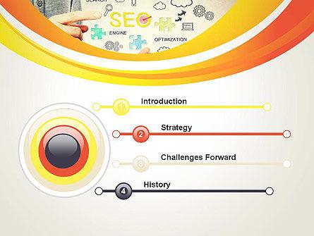 Website Traffic Optimization PowerPoint Template, Slide 3, 13545, Careers/Industry — PoweredTemplate.com