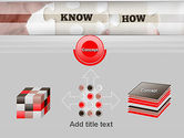 Knowhow Puzzle Pieces PowerPoint Template#19