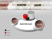 Knowhow Puzzle Pieces PowerPoint Template#6