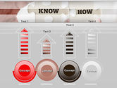 Knowhow Puzzle Pieces PowerPoint Template#7
