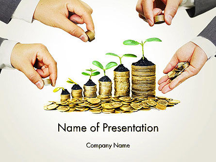 Good Investment PowerPoint Template, 13551, Financial/Accounting — PoweredTemplate.com
