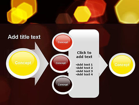 Blurred Car Lights PowerPoint Template Slide 17