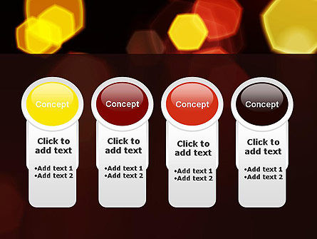 Blurred Car Lights PowerPoint Template Slide 5