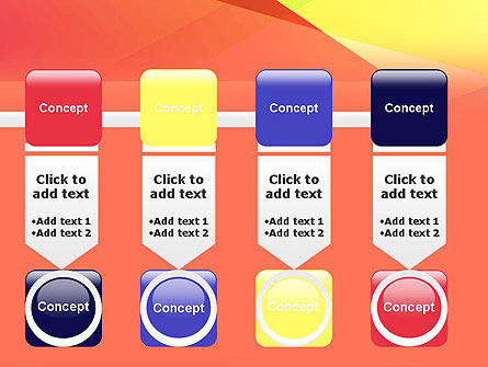 Color Intersection PowerPoint Template Slide 18