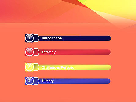 Color Intersection PowerPoint Template, Slide 3, 13554, Abstract/Textures — PoweredTemplate.com