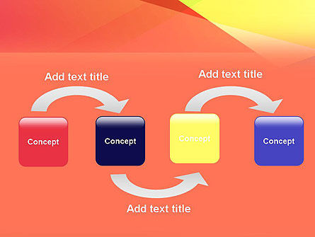 Color Intersection PowerPoint Template, Slide 4, 13554, Abstract/Textures — PoweredTemplate.com