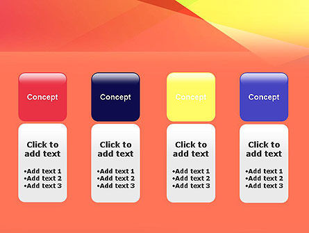 Color Intersection PowerPoint Template Slide 5