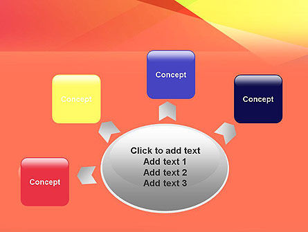 Color Intersection PowerPoint Template Slide 7