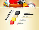 Back to School with School Supplies PowerPoint Template#14
