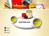 Back to School with School Supplies PowerPoint Template#6