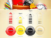 Back to School with School Supplies PowerPoint Template#7