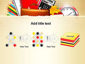 Back to School with School Supplies PowerPoint Template#9
