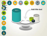 Flat Design Round Icons PowerPoint Template#10