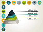 Flat Design Round Icons PowerPoint Template#12