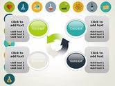 Flat Design Round Icons PowerPoint Template#9