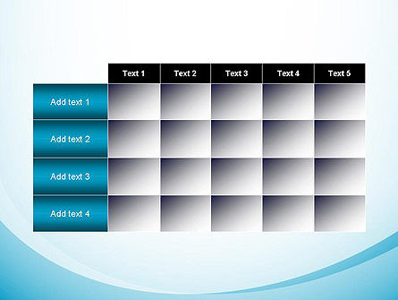Aqua Theme Abstract PowerPoint Template Slide 15