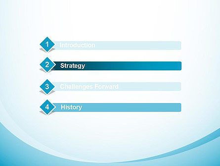 Aqua Theme Abstract PowerPoint Template Slide 3