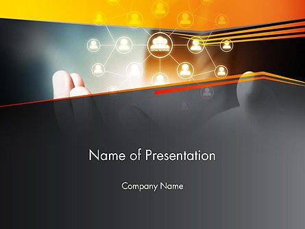 Leadership Networking PowerPoint Template