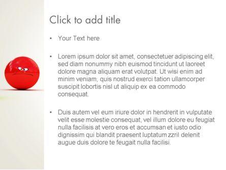 3D Emotions PowerPoint Template, Slide 3, 13567, Art & Entertainment — PoweredTemplate.com