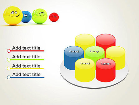 3D Emotions PowerPoint Template Slide 12
