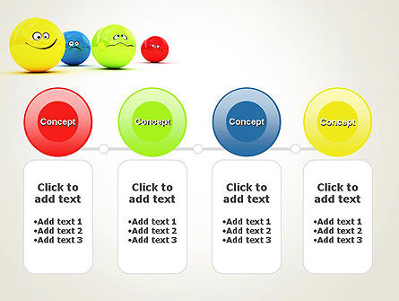 3D Emotions PowerPoint Template Slide 5