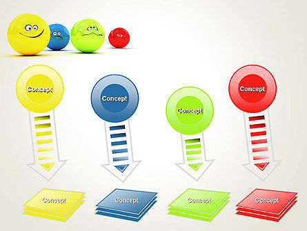 3D Emotions PowerPoint Template Slide 8