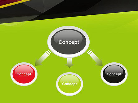 Abstract Broken Layers PowerPoint Template Slide 4