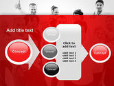 Happy Clients PowerPoint Template#17
