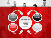 Happy Clients PowerPoint Template#6