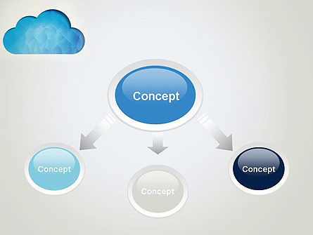Blue Cloud PowerPoint Template, Slide 4, 13574, Careers/Industry — PoweredTemplate.com