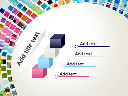 Mosaic Circle Abstract PowerPoint Template Slide 14