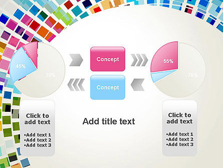 Mosaic Circle Abstract PowerPoint Template Slide 16