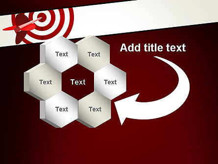 Hit the Target PowerPoint Template Slide 11