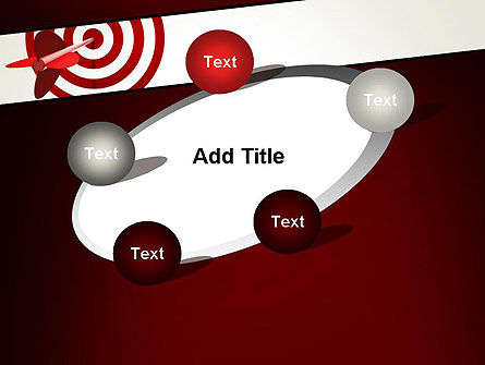 Hit the Target PowerPoint Template Slide 14