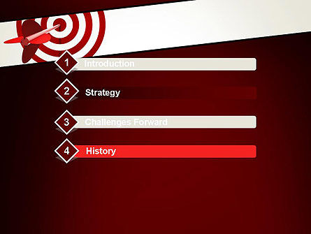 Hit the Target PowerPoint Template, Slide 3, 13579, Business Concepts — PoweredTemplate.com