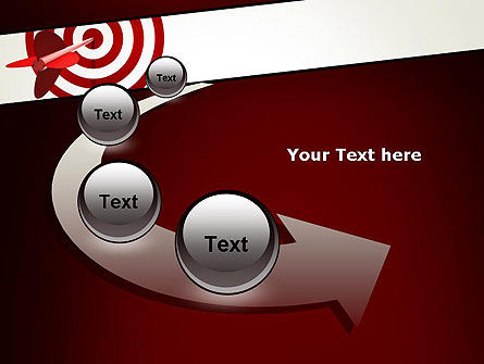 Hit the Target PowerPoint Template Slide 6