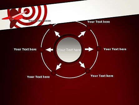 Hit the Target PowerPoint Template Slide 7