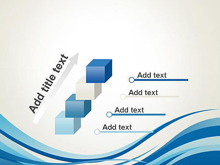 Abstract Waved PowerPoint Template Slide 14