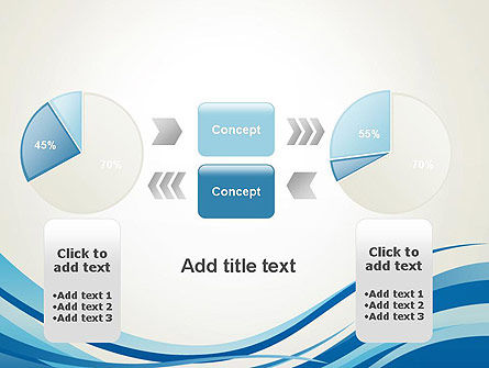 Abstract Waved PowerPoint Template Slide 16