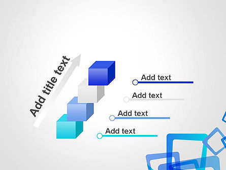 Blue Frames Abstract PowerPoint Template Slide 14