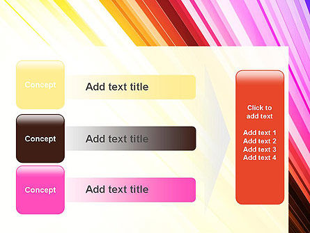 Colorful Strings PowerPoint Template Slide 12