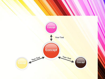 Colorful Strings PowerPoint Template Slide 14