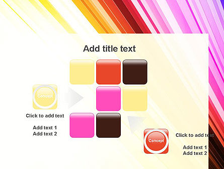 Colorful Strings PowerPoint Template Slide 16