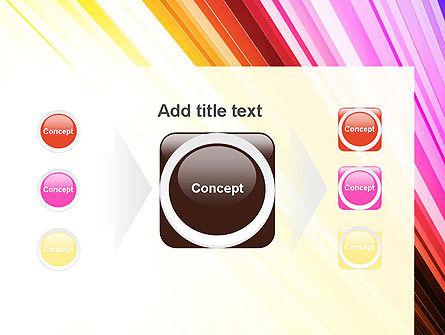 Colorful Strings PowerPoint Template Slide 17