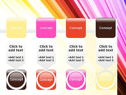 Colorful Strings PowerPoint Template Slide 18