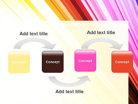 Colorful Strings PowerPoint Template, Slide 4, 13587, Abstract/Textures — PoweredTemplate.com