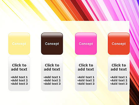 Colorful Strings PowerPoint Template Slide 5