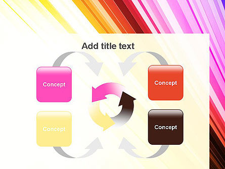 Colorful Strings PowerPoint Template Slide 6