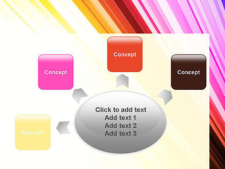 Colorful Strings PowerPoint Template Slide 7